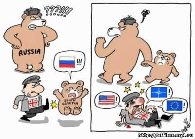Карикатура на Грузию